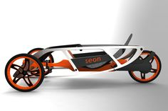 SEON Trike Concept by Luis Alberto Cordoba Dorantes is a small as well as efficient concept transportation designed for urban environments. Lightweight body is made…