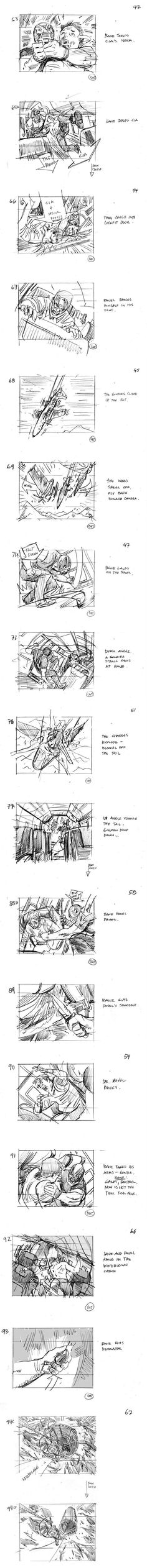Dark Knight Storyboards