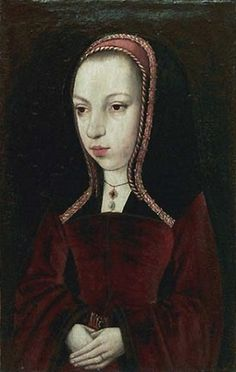 Margaret of Austria, ca. 1492-1495 (attributed to the Master of the Legend of Mary Magdalene) (fl. 1490-1525)  Musée du Louvre, Paris,  R.F. 2259