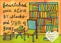 Bewitched by Books / artsyville