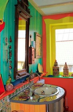 Modern interior decor - The Bohemian Bathroom – Modern interior decor Decor, Modern Interior Decor, House Design, Bohemian Bathroom, Interior, Home Decor, Interior Design, Boho Bathroom, House Colors