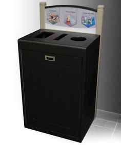 Indoor Recycling Bin for Upscale Offices
