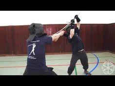Zwerchhau, absetzen, nachreissen - longsword techniques training