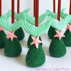 Mermaid Theme Cakepops