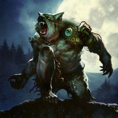Nazi Werewolf by BorjaPindado monster beast creature animal Fantasy Creatures, Mythical Creatures, Dark Fantasy, Fantasy Art, Werewolf Art, Beast Creature, Primitive, Vampires And Werewolves, World Of Darkness