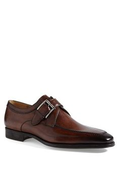 Magnanni 'Mauricio' Monk Strap Slip-On available at #Nordstrom