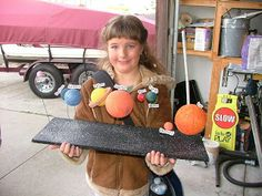 Natalie's Solar system project!