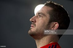 Frances full back Scott Spedding is seen after a training session on November 2014 in Marcoussis, south of Paris. Get premium, high resolution news photos at Getty Images