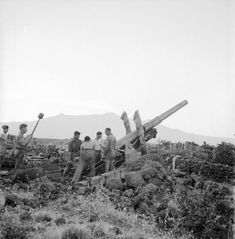 Gunners of British 66 Medium Regiment Royal Artillery in action on the slopes of Mount Etna, Sicily at dawn, 11 August 1943 - See more at: http://ww2today.com/#sthash.ziRwpYUF.dpuf