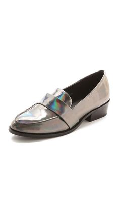 Sol Sana Jules iridescent leather Loafers