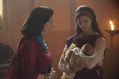 The Red Tent - Rachel and queen Re-Nefer