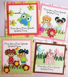Tarjetas de presentación personalizadas Facebook Crafts by Iris @craftsbyiris