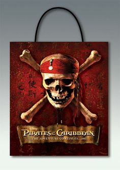 Pirates Of The Caribbean Treat Bag