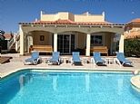 Holiday Villa in Caleta De Fuste, Fuerteventura. Private pool. Golf holiday rental direct from owner C499 £700/w