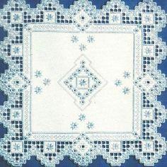 "Satin Stitches ""Snowflakes"" Hardangersom Pattern"