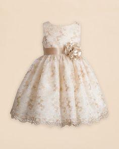 Kleinfeld Pink Girls' Leela Dress - Sizes 2T-4T