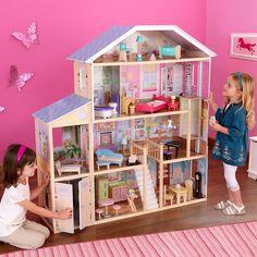 Diy Barbie Furniture, Barbie Furniture Tutorial, Barbie Doll House, Barbie Dolls, Wooden Dollhouse, Dollhouse Toys, Dollhouse Miniatures, Dollhouse Ideas, Dollhouse Furniture