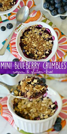 Mini Blueberry Crumb