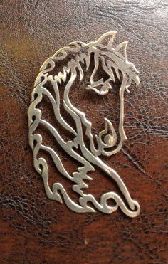 Necklace-Silver hourse,