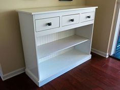 Entry Console | Do It Yourself Home Projects from Ana White