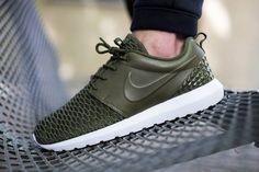 Nike Roshe NM Flyknit PRM Rough Green - 746825-300