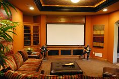 Indulge yourself at the end of a long day with a private showing of your favorite movie in your own home. Whether you are entertaining or just relaxing, your Home Theater will be your favorite room in the house.