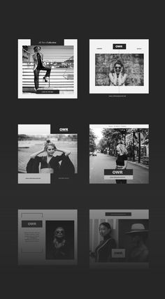 Presenting the Instagram Black & White Pack.  If there's one thing all creative industries can agree on, it's that black and white is a timeless pair. Black and white designs have always been extremely popular. They're incredibly versatile, easy to use, and effective as anything! Instagram Design, Free Instagram, Instagram Feed, Social Media Template, Social Media Design, Portfolio Architect, Black And White Design, Black White, Black And White Instagram