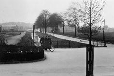 Dordrecht : De Boezemkade richting Zuidendijk in 1935