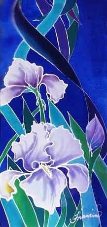Love this silk painting