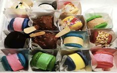 I try out the latest dessert craze which is offered by Sugarlicious in Durban and those are ice-cream macarons, the ultimate sweet-tooth craving satisfied. Macarons, South Africa, Cravings, Sweet Tooth, Restaurants, Ice Cream, Desserts, Food, No Churn Ice Cream