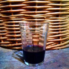 Primeira trasfega da safra 2015 do Vinho do Recanto !
