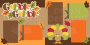 Gobble Gobble Scrapbook Page Kit (40% off for Members)