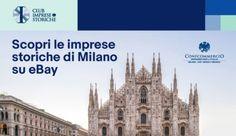 """eBay, uno dei più grossi marketplace, ha lanciato un progetto molto interessante, in collaborazione con Confcommercio Milano, Lodi, Monza e Brianza e con il Club Imprese Storiche, per favorire la digitalizzazione delle eccellenze sul territorio con oltre 25 anni di attività. Sono 20 le imprese storiche di Milano che approdano online, realizzando un vero percorso di eccellenza """"made in Italy"""".  #ImpreseStoricheSueBay #ad Milano, Ecommerce, Club, Ebay, E Commerce"""