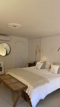 Room Design Bedroom, Room Ideas Bedroom, Home Room Design, Dream Home Design, Home Bedroom, Bedroom Decor, Bedrooms, Minimalist Room, Aesthetic Room Decor