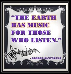 """""""the earth has music for those who listen."""" travel quote #rovia #booked #travelon"""