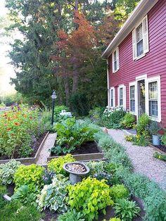 new england landscape english garden tips