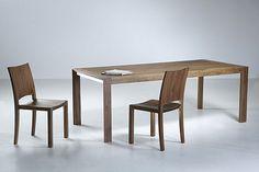 Veneto massief noten houten design tafel tot 260 cm lang | Webwinkel