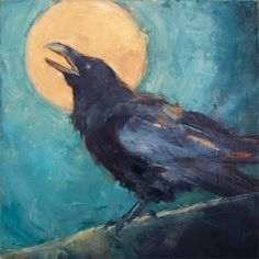 Sing to the Moon - Daily Painters of Minnesota