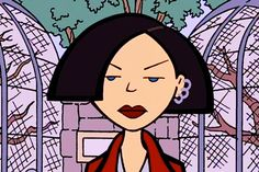 90s Beauty Looks - TV Movie Characters Inspiration Daria Characters, Iconic Characters, Daria Morgendorffer, Brandon Boyd, Brown Aesthetic, Aesthetic Art, Thought Catalog, Animated Cartoons, Cartoon Shows