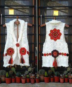 Fabulous Crochet a Little Black Crochet Dress Ideas. Georgeous Crochet a Little Black Crochet Dress Ideas. Crochet Coat, Crochet Jacket, Crochet Braids, Crochet Cardigan, Crochet Clothes, Freeform Crochet, Crochet Motif, Crochet Patterns, Appliques Au Crochet