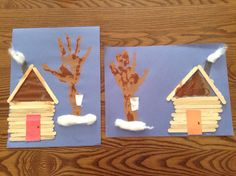 Cabane a sucre Daycare Themes, Preschool Themes, Kindergarten Activities, Classroom Activities, Preschool Activities, Spring Activities, Art Activities, Sugar Bush, Camping Crafts