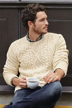 Buy Cable Crew Neck Knit from the Next UK online shop