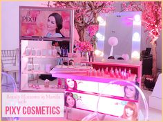 Beauty Blossoms in Manila with Pixy Cosmetics - Yettezkie's Doodles Manila, Blossoms, Philippines, Pixie, Doodles, Cosmetics, Beauty, Flowers, Beauty Illustration