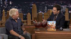 Watch Guy Fieri Talk Giant Hot Dogs with Jimmy Fallon