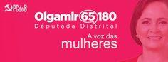 BLOG DO ARRETADINHO: EU VOTO OLGAMIR 65180!