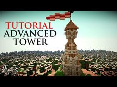 Minecraft - How to Build a Complex Medieval Tower Minecraft Bridges, Cool Minecraft, Minecraft Buildings, Minecraft Projects, Minecraft Designs, Medieval Tower, Minecraft Medieval, Minecraft Construction, Tower Design