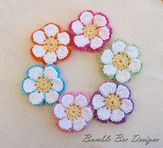 Crochet Flower - Wendy Schultz via Sharin Ware onto Crochet.