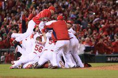 Congratulations Cardinals! Proud to be a St. Louisan!