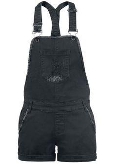 Short Dungarees par Black Premium by EMP