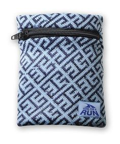 Take a look at this Aztec Blue WristSTASH Sweatband Wallet on zulily today!